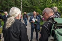 Mats Källstig guidar oss i skulpturparken