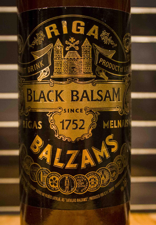 black balsam systembolaget