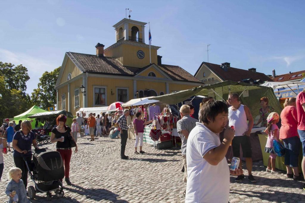 Torshälla Marknad Rådhustorget