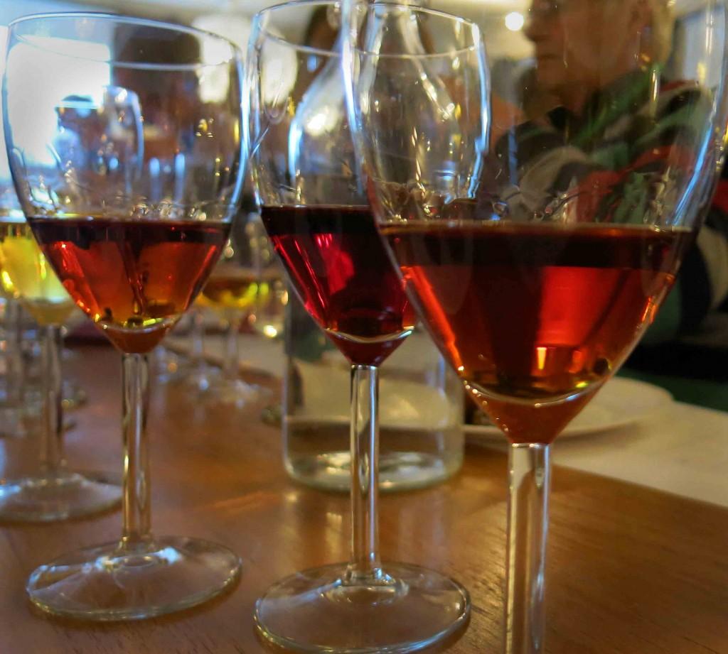 Vinprovning söta viner