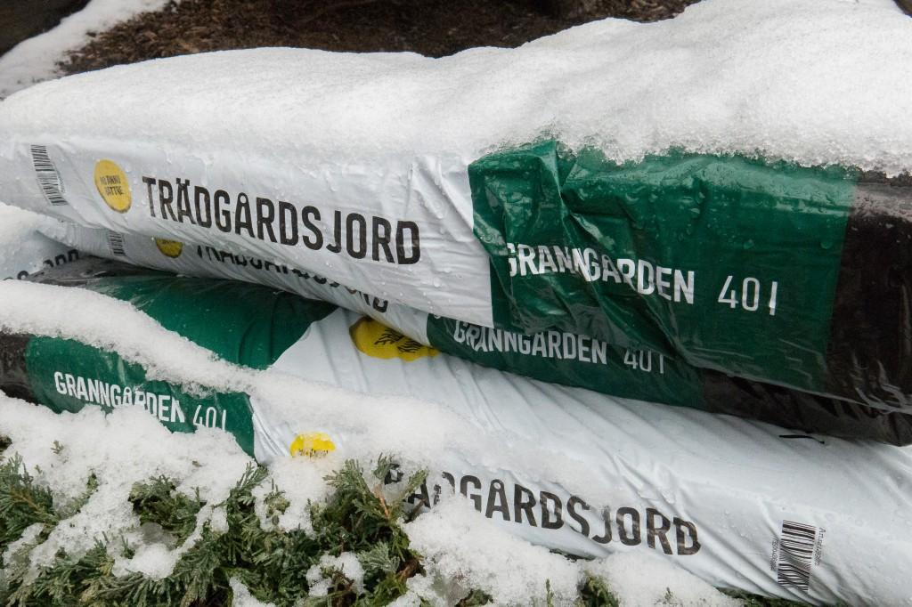 Snö möter vår