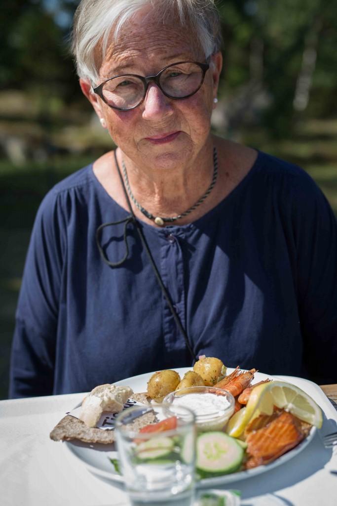 Ullas födelsedagslunch på Ängsö fisk-1