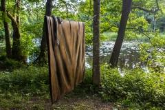Lakanet (helt av trä) och ormen av Erik Thulén