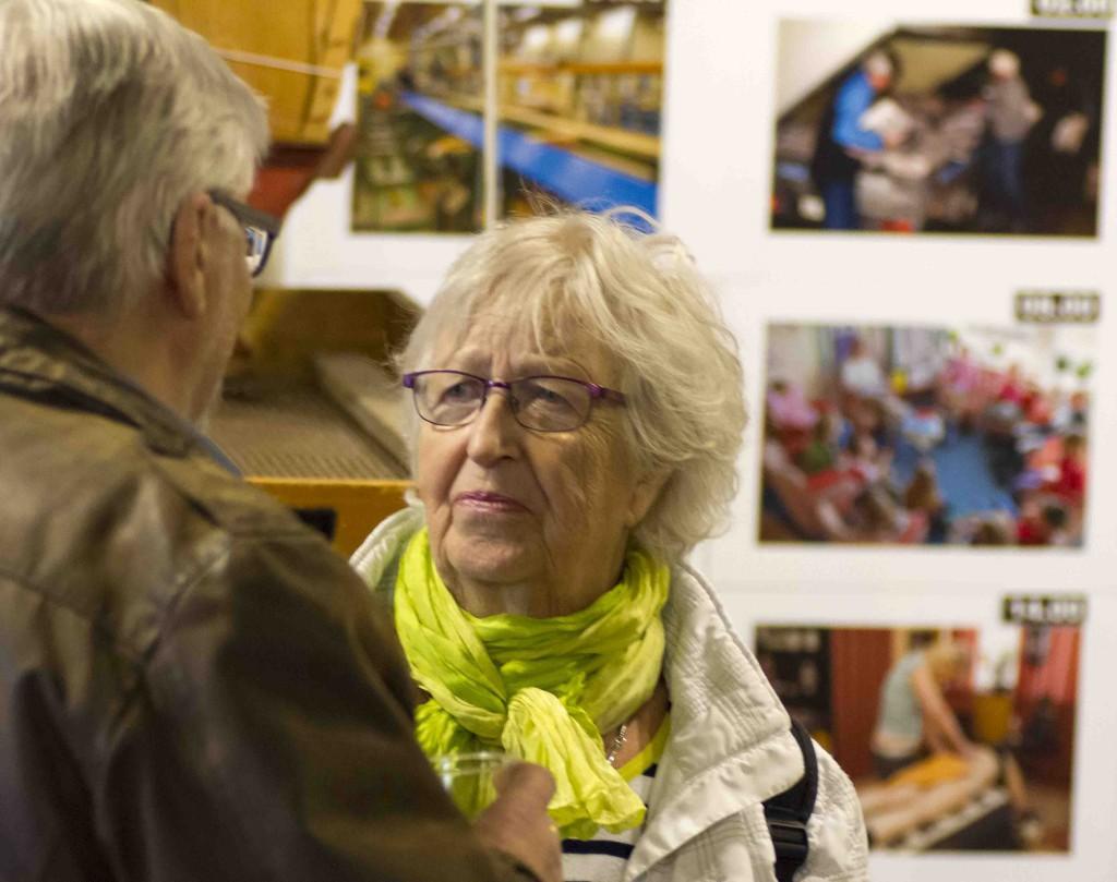 Prismas jubileumsutställning Vernissage Anita